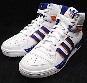 アディダス アティチュード(adidas attitude)白青オレンジ