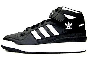 アディダス フォーラム ミッド 黒白(adidas forum mid)