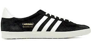 アディダス ガッツレー og ブラック/ホワイト(adidas gazelle og black/white/m.gold)