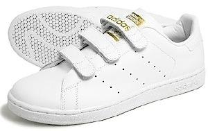 アディダス スタンスミス コンフォート 白金(adidas stan smith comfort white/gold)