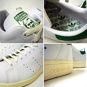 アディダス スタンスミス 白緑(adidas stan smith white/green)