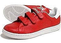 アディダス スタンスミス コンフォート 赤白(adidas stan smith comfort red/white)