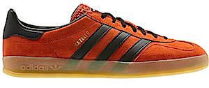 アディダス ガッツレー インドア クラフト オレンジガム/ブラック(adidas gazelle indoor craft orange/gum/black)