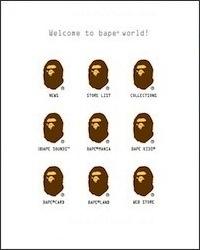 ア ベイシング エイプ(a bathing ape)