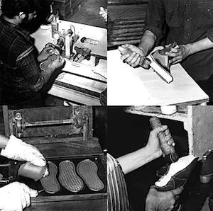 バンズシューズ 製造工程(making vans)