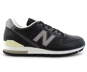 ニューバランス M996 レザー 黒(new balance m996 black made in USA)