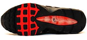 ナイキ エアマックス 95 オレンジ/グレー(Nike Air Max 95 orange/grey)