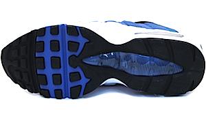 ナイキ エアマックス 95 ホワイト/ブルー/ブラック(Nike Air Max 95 White/Blue/Black)