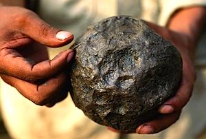 オルメカのエル・マナティ遺跡のゴムボール(Olmec El manati Rubber Ball)