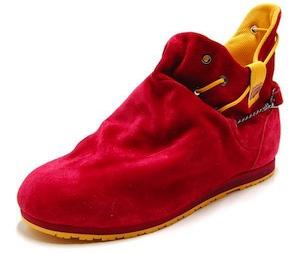 オニツカタイガー・スニーカー モンテブーツ レッド/マスタード(onitsuka tiger monte boots red/mustard)