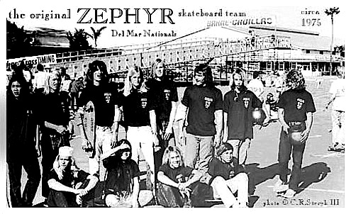 オリジナル Z-BOYS(ゼファー スケートボード チーム)<br /> the original ZEPHYR skateboard team