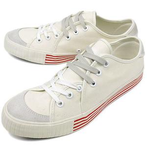 リズム フットウェア サンドウィッチ ロー ホワイト(rhythm footwear sandwich-lo canvas white)