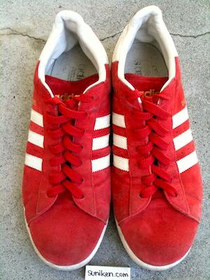 アディダス キャンパス 2 赤(adidas campus 2 red)