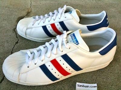 アディダス スーパースター 80's トリコロール(adidas super star 80's tricolore)