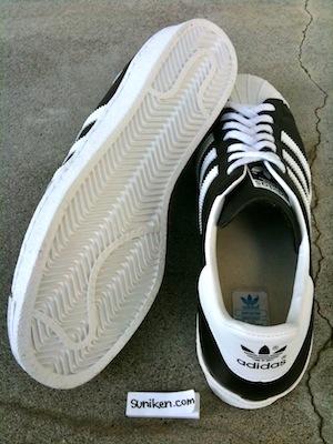 アディダス スーパースター 80's 黒白(adidas super star 80's black white)