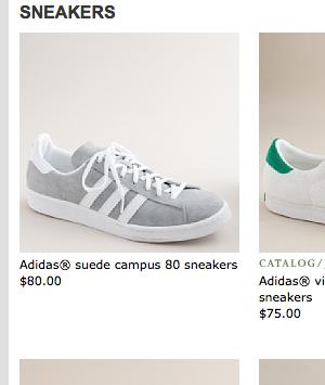 J.クルー(J.Crew)オフィシャルサイト アディダス キャンパス 80's(adidas campus 80's)
