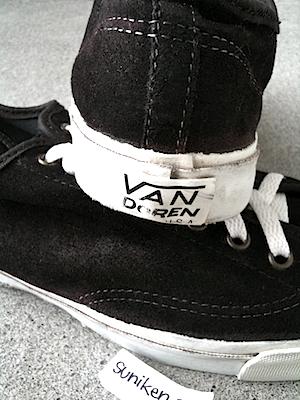 バンズ ディーン ロー 黒 スエード メイド イン USA(vans dean lo black suede made in USA)