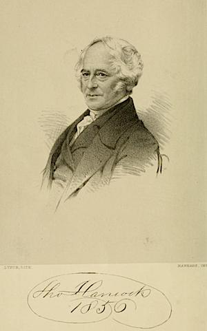 トーマス・ハンコック(Thomas Hancock)