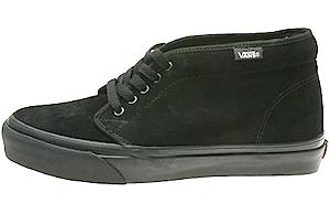 バンズ チャッカブーツ コア クラシックス スエード ブラック(Vans Chukka Boot Core Classics Suede Black/Black)
