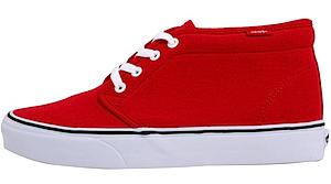 バンズ チャッカブーツ コア クラシックス キャンバス レッド(Vans Chukka Boot Core Classics Cvs Red/White)