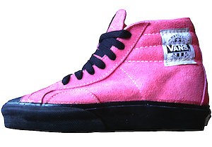 バンズ ネイティブ アメリカン ピンク スエード メイド イン USA 1980's(VANS Native American pink suede MADE IN USA 1980's)