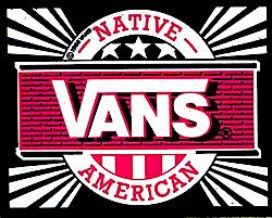 バンズ ネイティブ アメリカン ロゴ(VANS Native American logo)