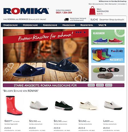 Romika online shop