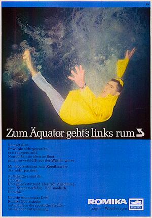 Romika print ad 1969