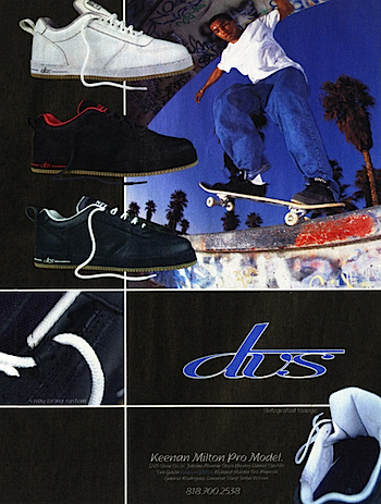 Keenan Milton Pro Model DVS Shoes (1996)