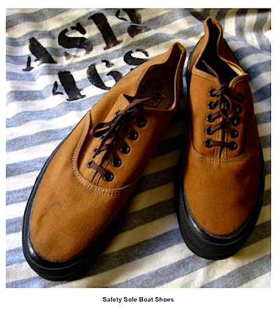US Navy Safety Sole Boat Shoes