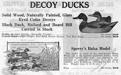 Sperry Duck Decoy