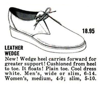 Sperry Top-Sider Leather Wedge