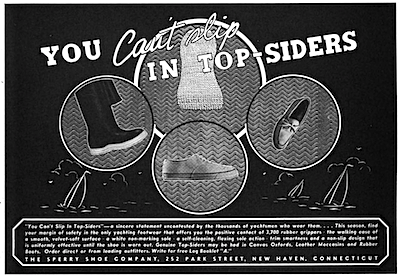 You Can't Slip In Top-Siders 1939
