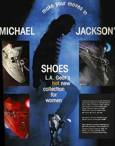 Michael Jackson x L.A. Gear (c.1990)