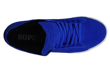 Supra Thunder Blue Suede
