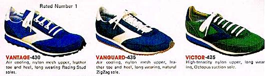 ブルックスの1976年当時の広告