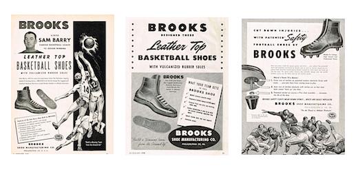 ブルックス1948年当時の広告(Brooks Vintage ads)