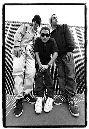 Beastie Boys photo by Glen E Friedman