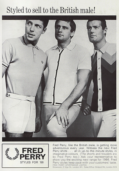 Fred Perry Sportswear  (1966)