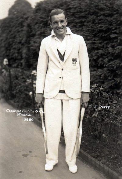 Frederick john perry