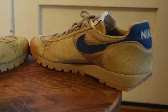Nike Lava Dome Tan and Blue (1984)