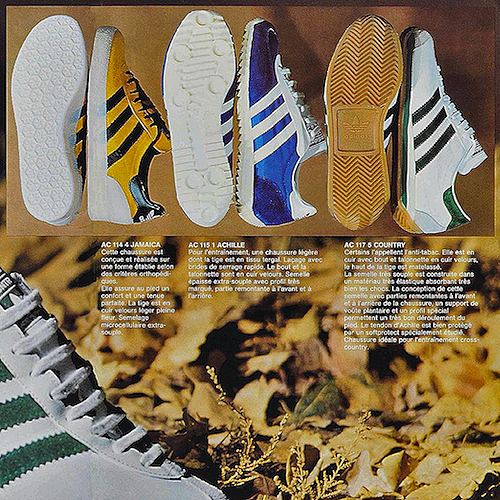 adidas French catalog (1976)