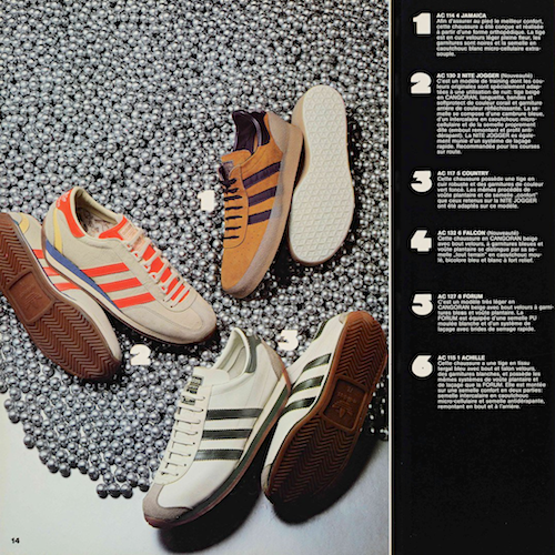 adidas French catalog (1977)