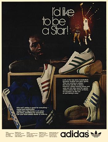 adidas advertisement (1973)
