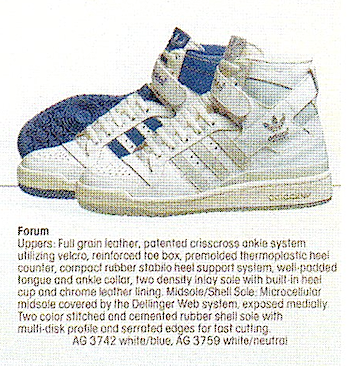 adidas forum adidas footwear catalog 1986