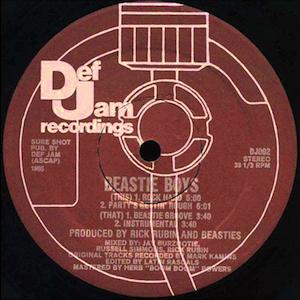 Rock Hard / Beastie Boys (1985)