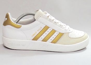 adidas forest hills 82 white/gold