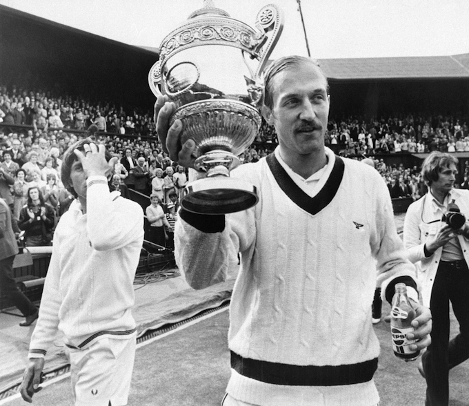 Stan Smith Holding Winners Cup (7/9/1972-Wimbledon, England)
