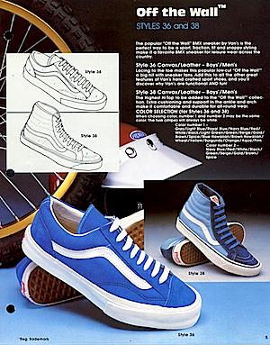 バンズ・シューズカタログ (vans shoes catalog)