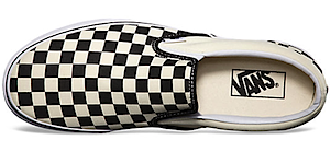 バンズ スリッポン チェッカーボード(VANS Slip-On checkerboard